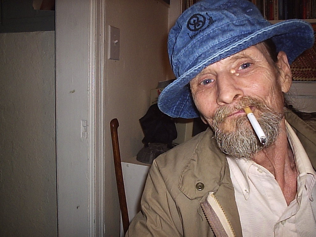 Alan Justiss (RIP) wearing the classic blue S8 gonzo hat.