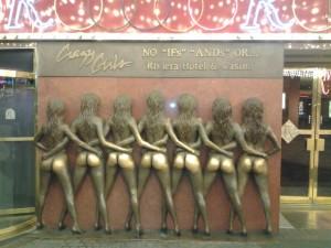 rivera booty statue LV