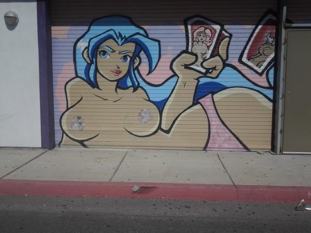 Erotic History Museum Graffitti Mural (Las Vegas)