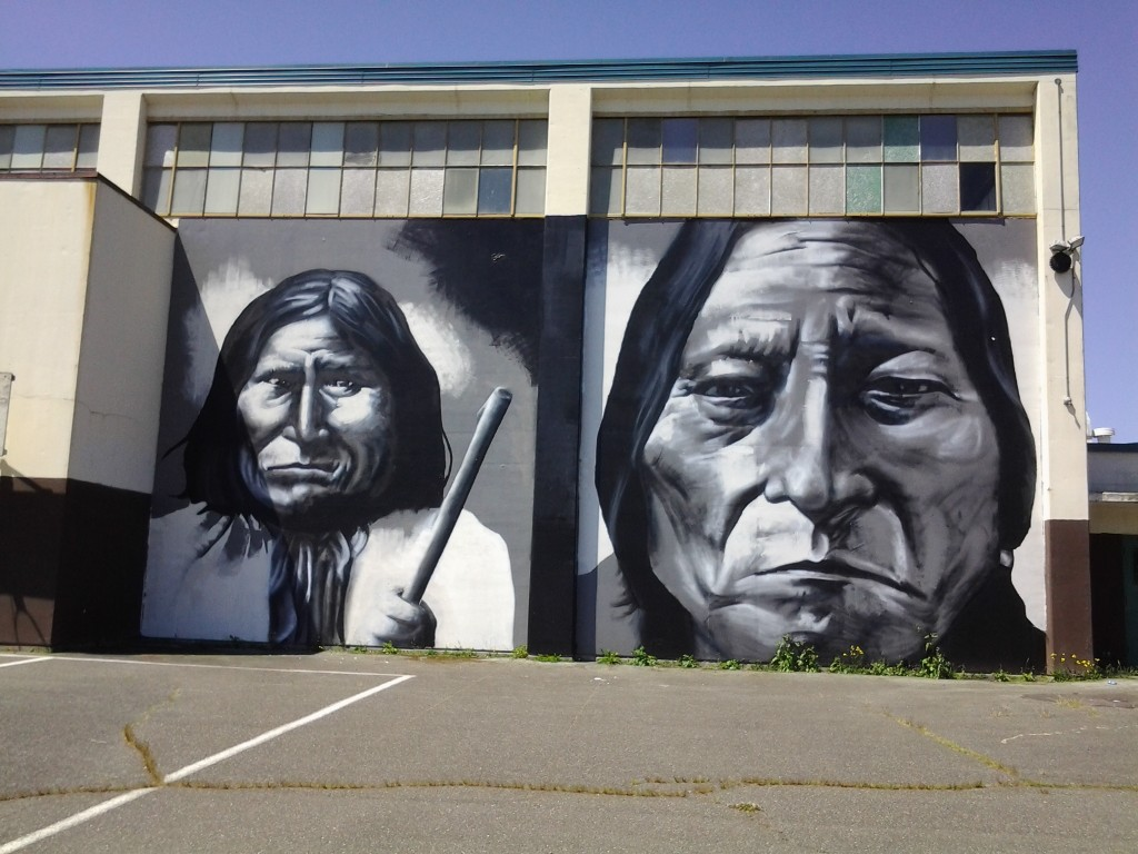 First Nation Mural