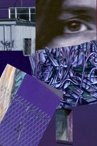 Downtown Medley In Purple _ Kathleen Gunton