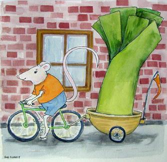 Taking A Leek by Sue Clancy