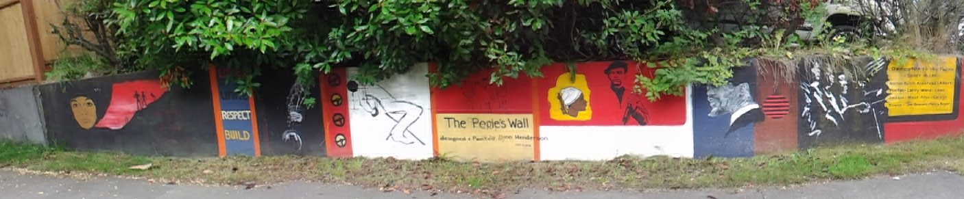 The Peoples Wall -Seattle Central District