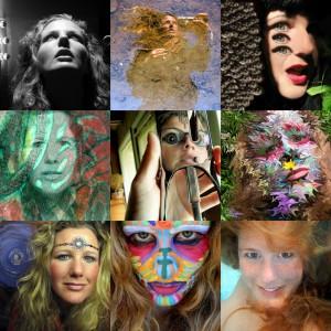 selfie collage by Shannon Kringen