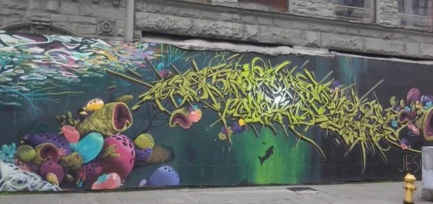 Pioneer Square street art