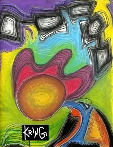 Inside the drawing by Shannon Kringen