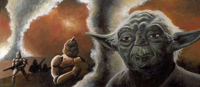 Yoda by Mark Nasso
