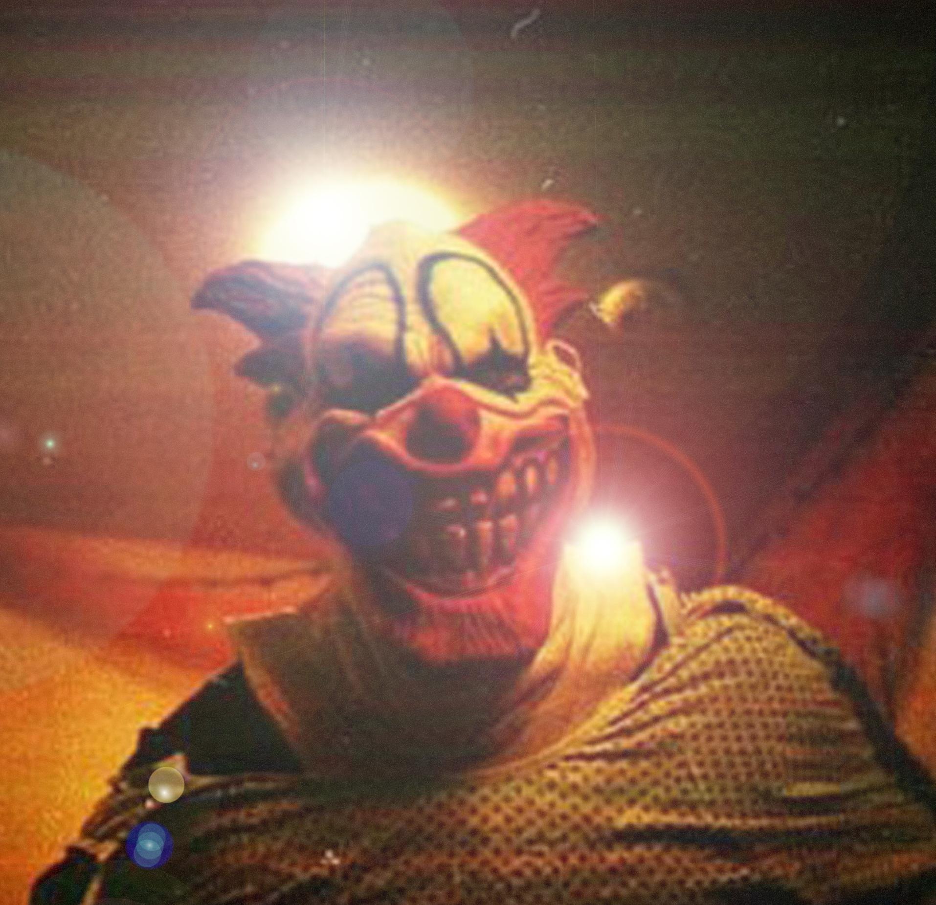 Ghost Host flared clown