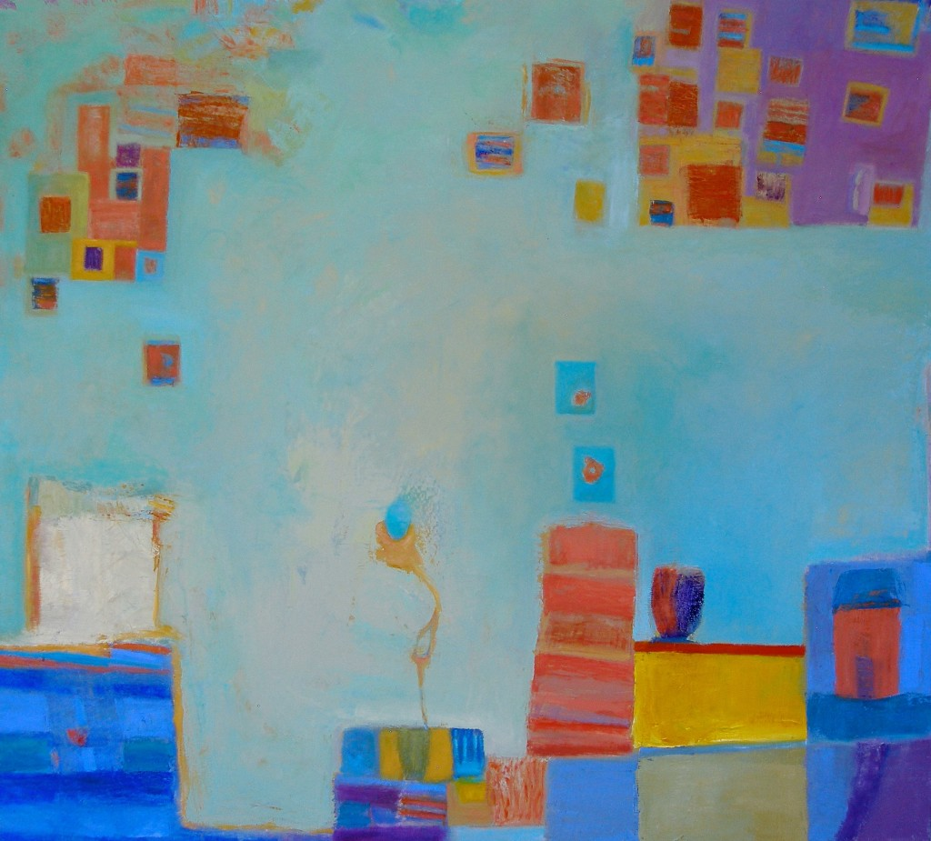 Hypothetically Speaking (Oil on Canvas) by Selene Santucci