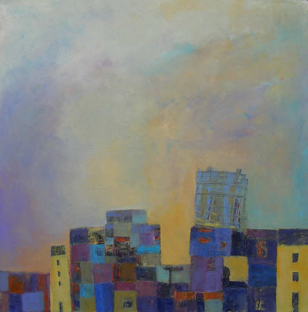 Building-On-Shakey-Ground-2014-30-x-30-Oil-on-Canvas