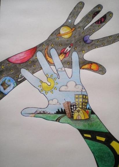 Day & Night Hands by Chris P. (Tronsoda.com)