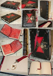 Victorian black widow kill counting journal by Benjamin Castro