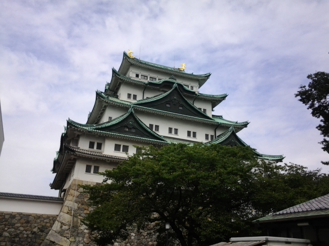 Nagoya Castle by Ty Samurai