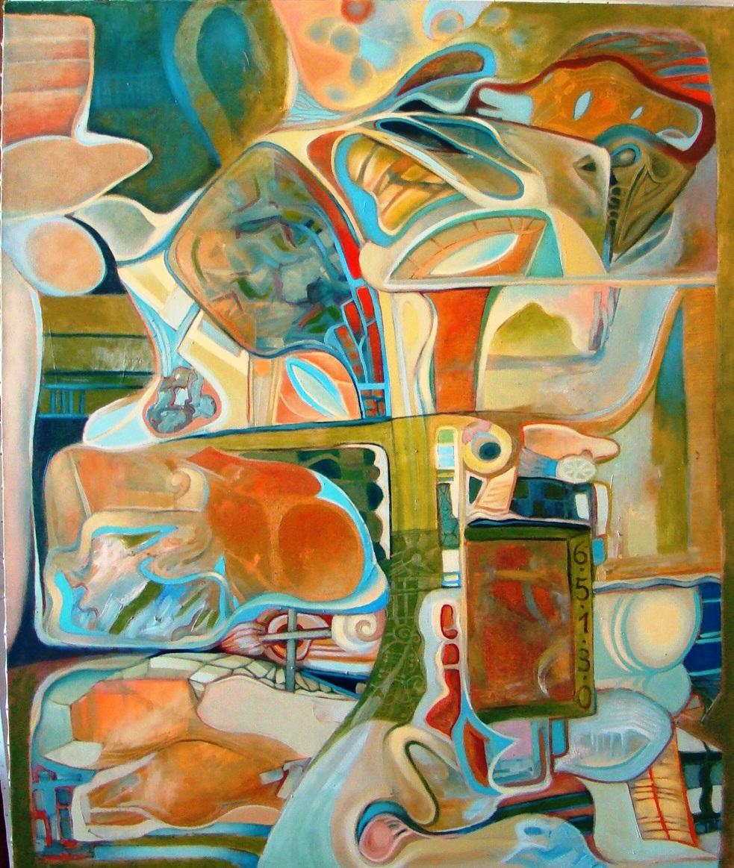 Artifacts 1 oil on canvas 120x100cm decembrie 2011