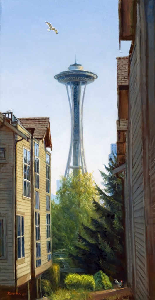 Sunny in Seattle by Dimitriy Grisenko