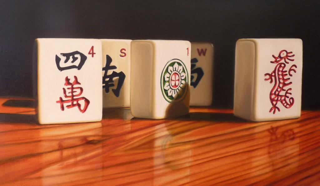 Mahjong Tiles 3 44 x 72cm