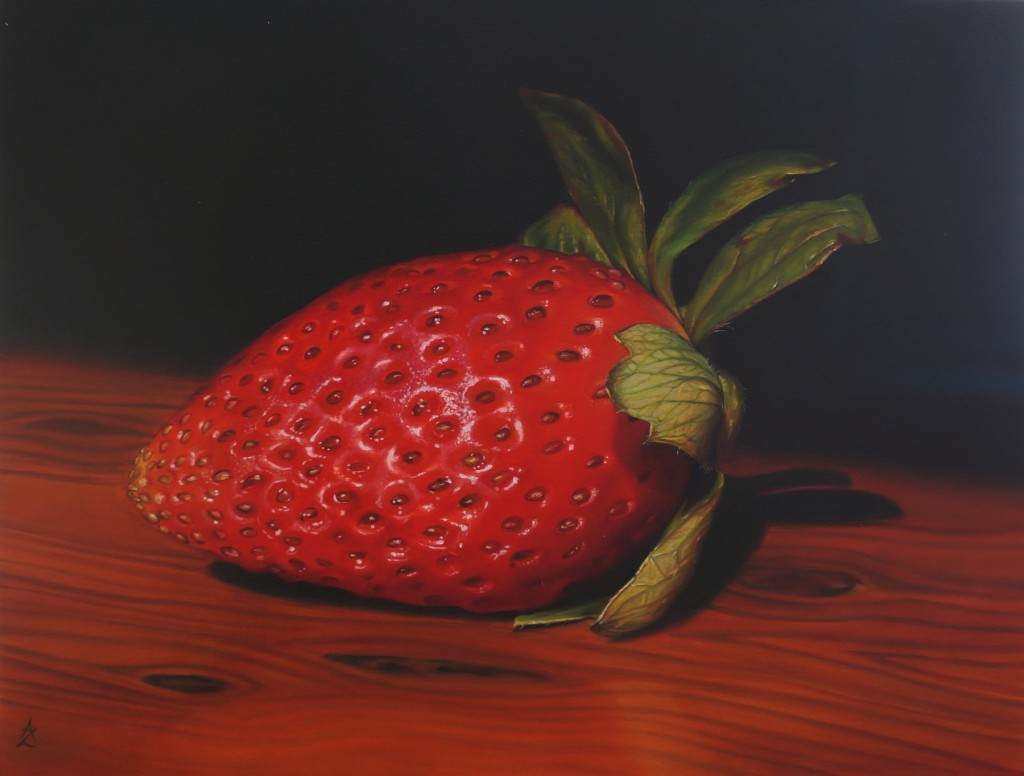 Strawberry_AM Zanetti_50x66cm