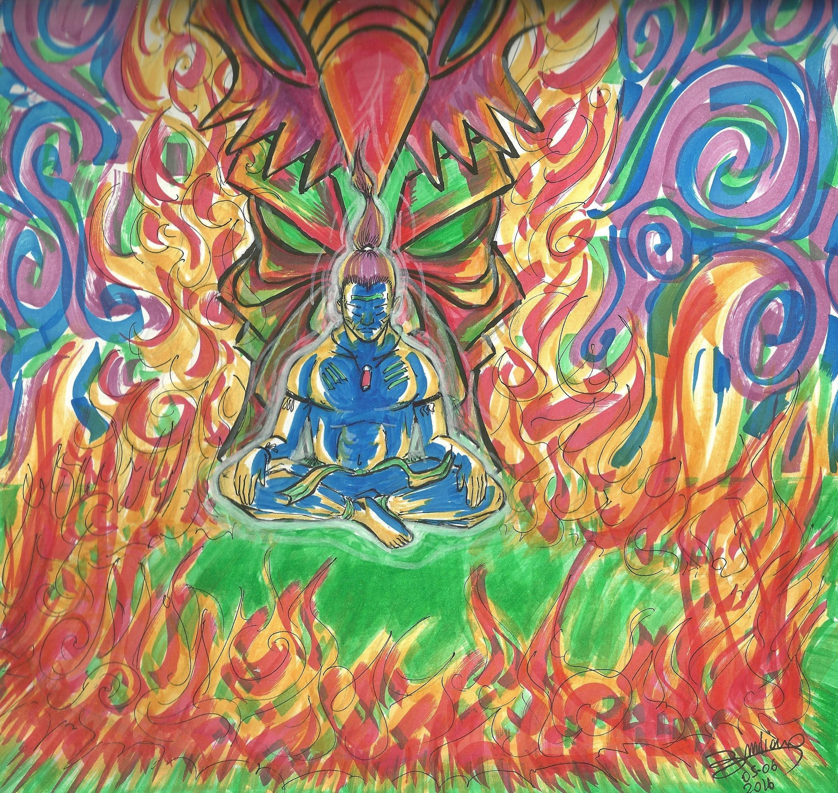 shaman fire