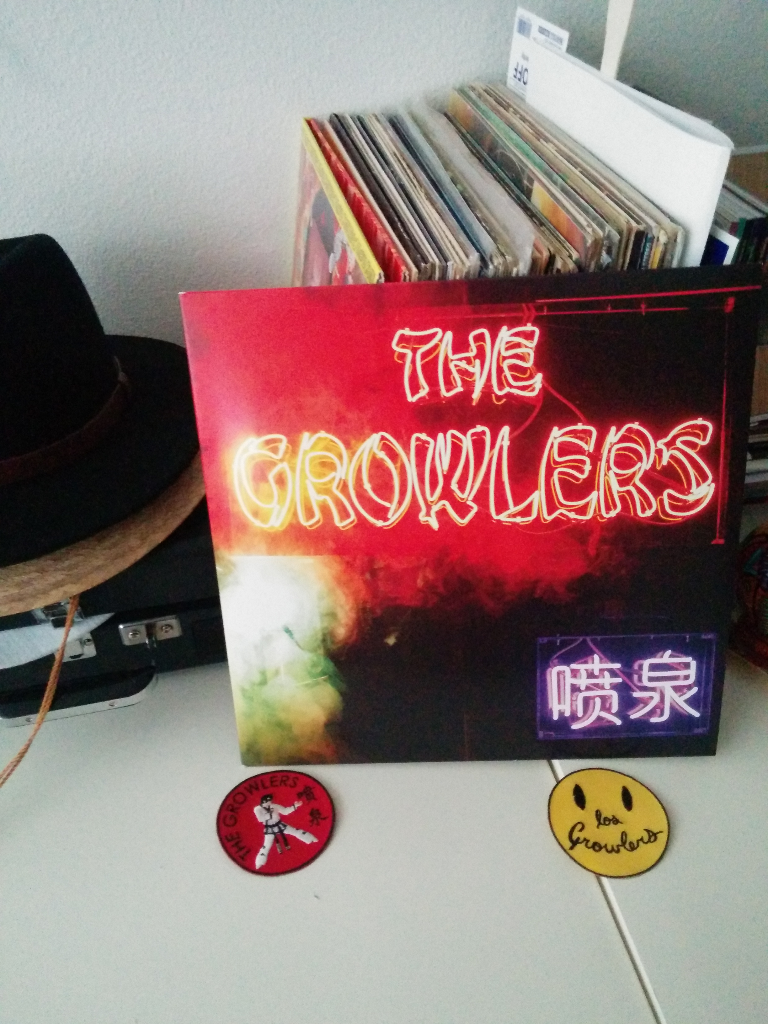 Growlers cover