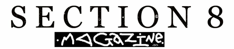 Section 8 magazine transparent logo