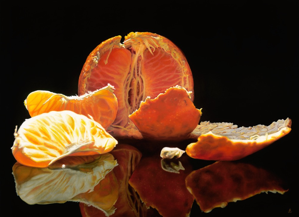 Mandarin 6 Oct 2015 108 x 146cm