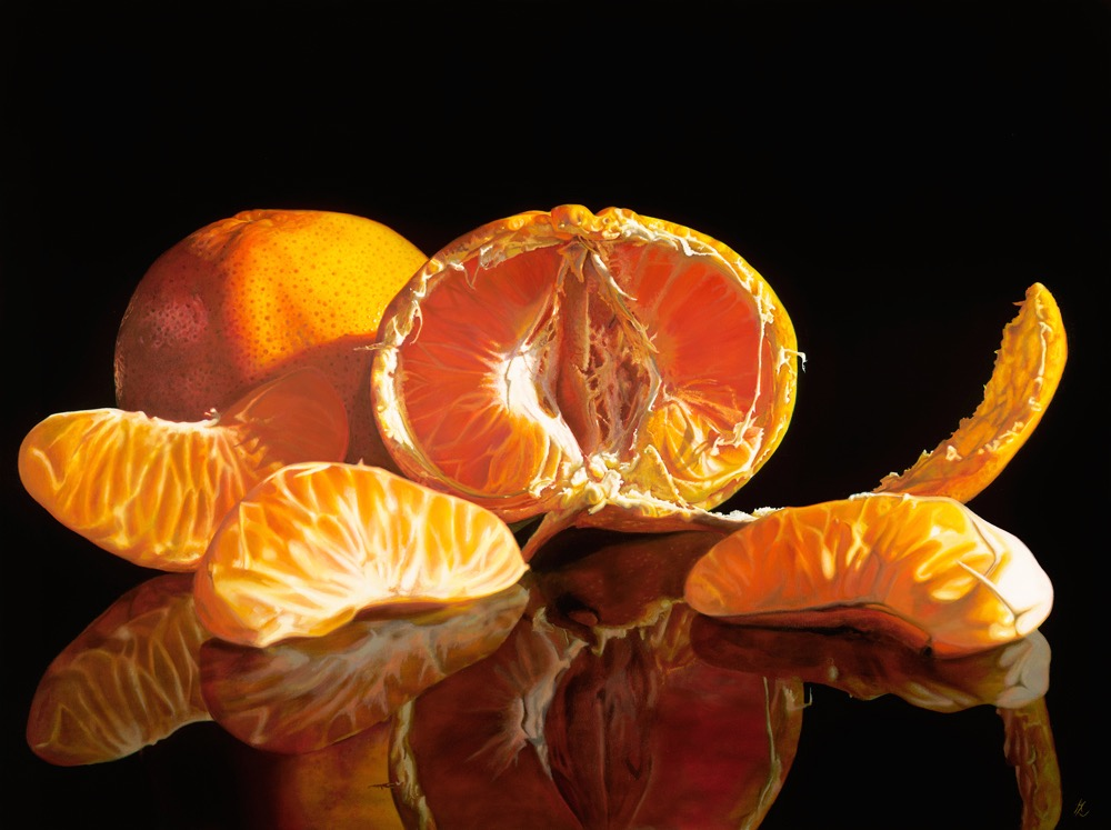 Mandarin 7 Oct 2015 112 x 150cm
